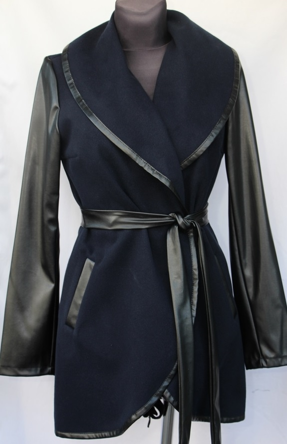 Пальто женское полубатал оптом 71902458 007-1-5