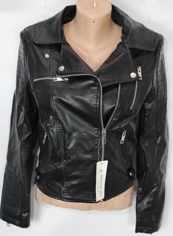 Куртки-косухи женские кожзам оптом 23197046 1630