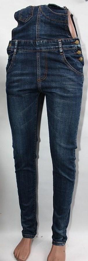 Комбинезоны джинсовые женские оптом 60795384 2435