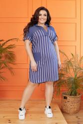 Платья женские БАТАЛ оптом 70312685  178-9