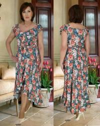 Платья женские БАТАЛ оптом 42137860  768-2