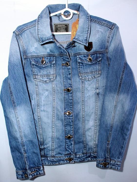 Куртки джинсовые женские DIMONI оптом 16725840 1086