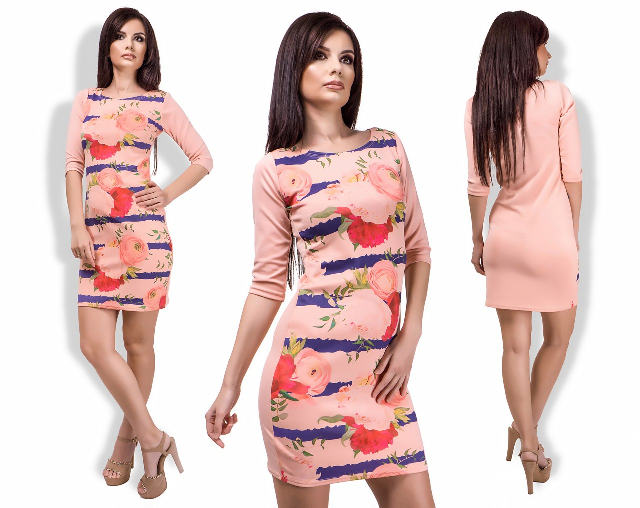 Платье женское оптом 23022335 887-1