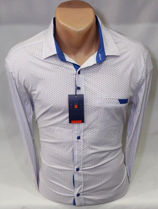 Рубашки PAUL STAR мужскиеТурция оптом 25789041