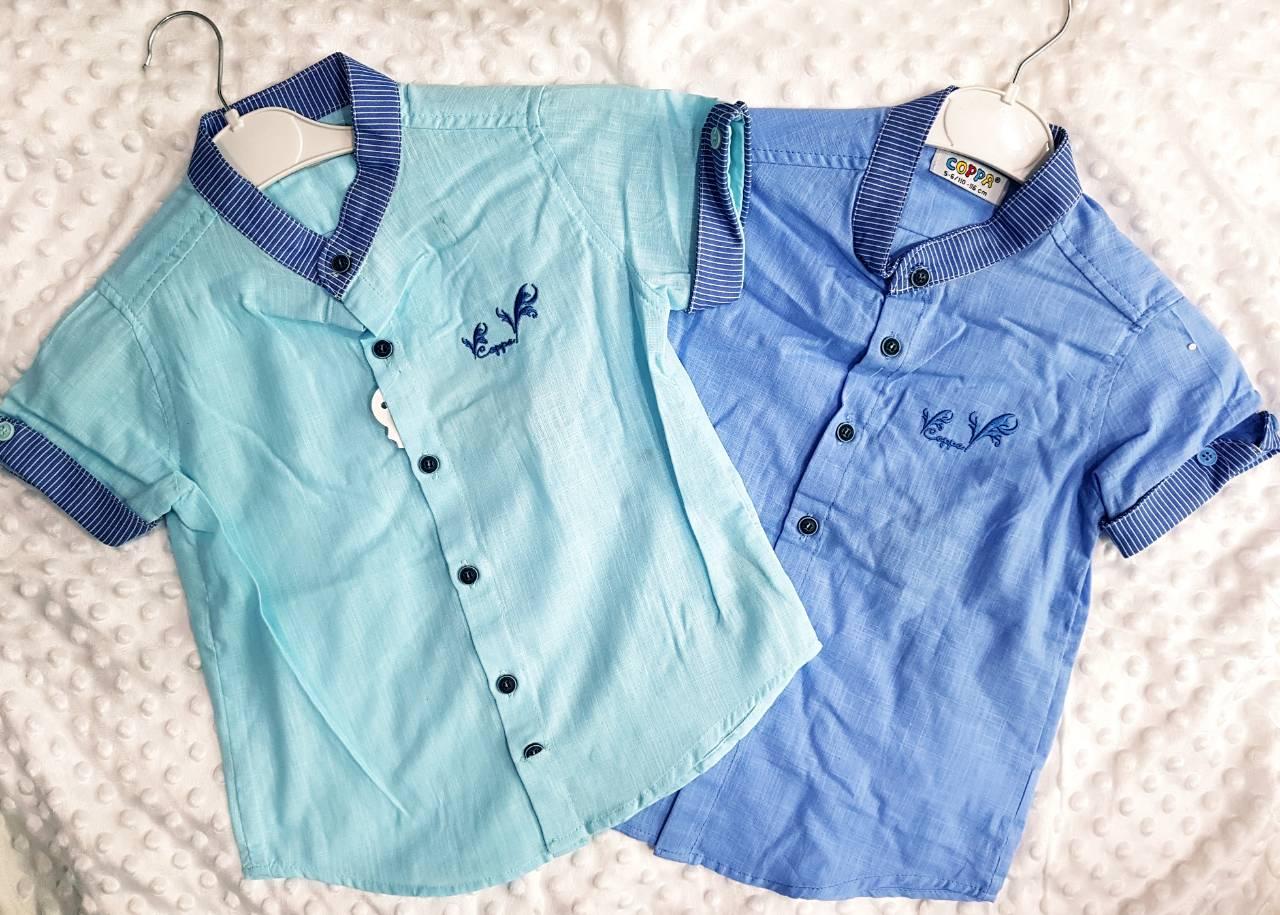 Рубашки детские на мальчика оптом 60915432 10-1