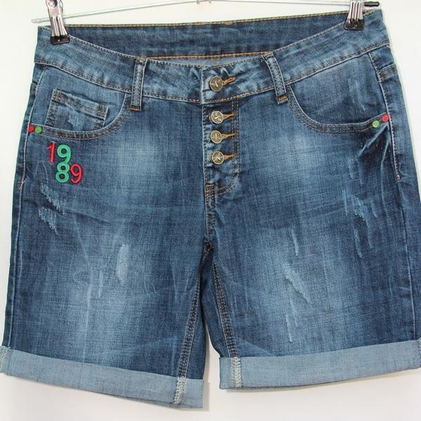 Шорты джинсовые женские PRETTY BABY оптом 83205674 8910