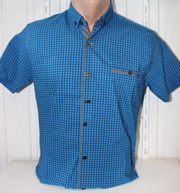 Рубашки мужские оптом 22061830 1725-5