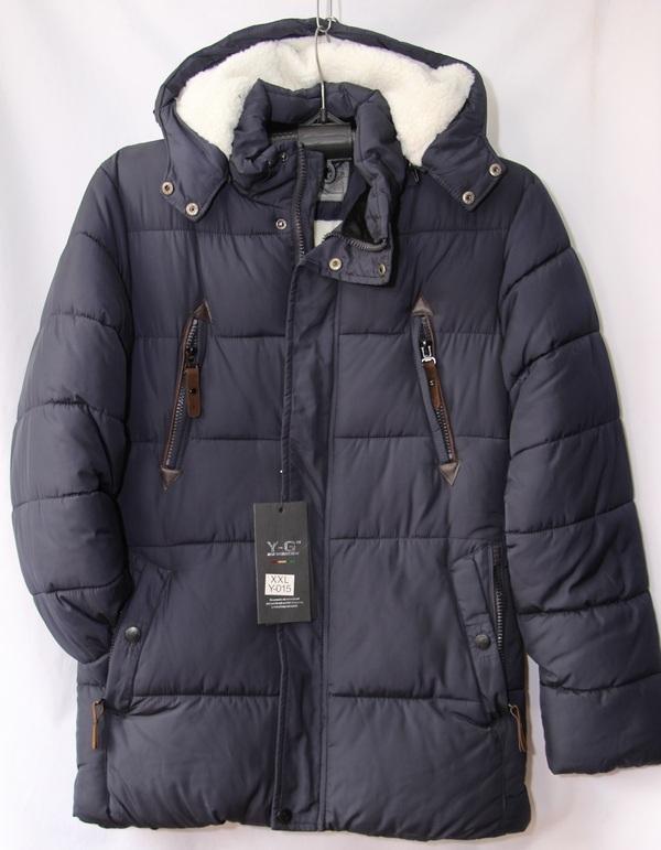 Куртки зимние мужские оптом 1309316 Y-015-59