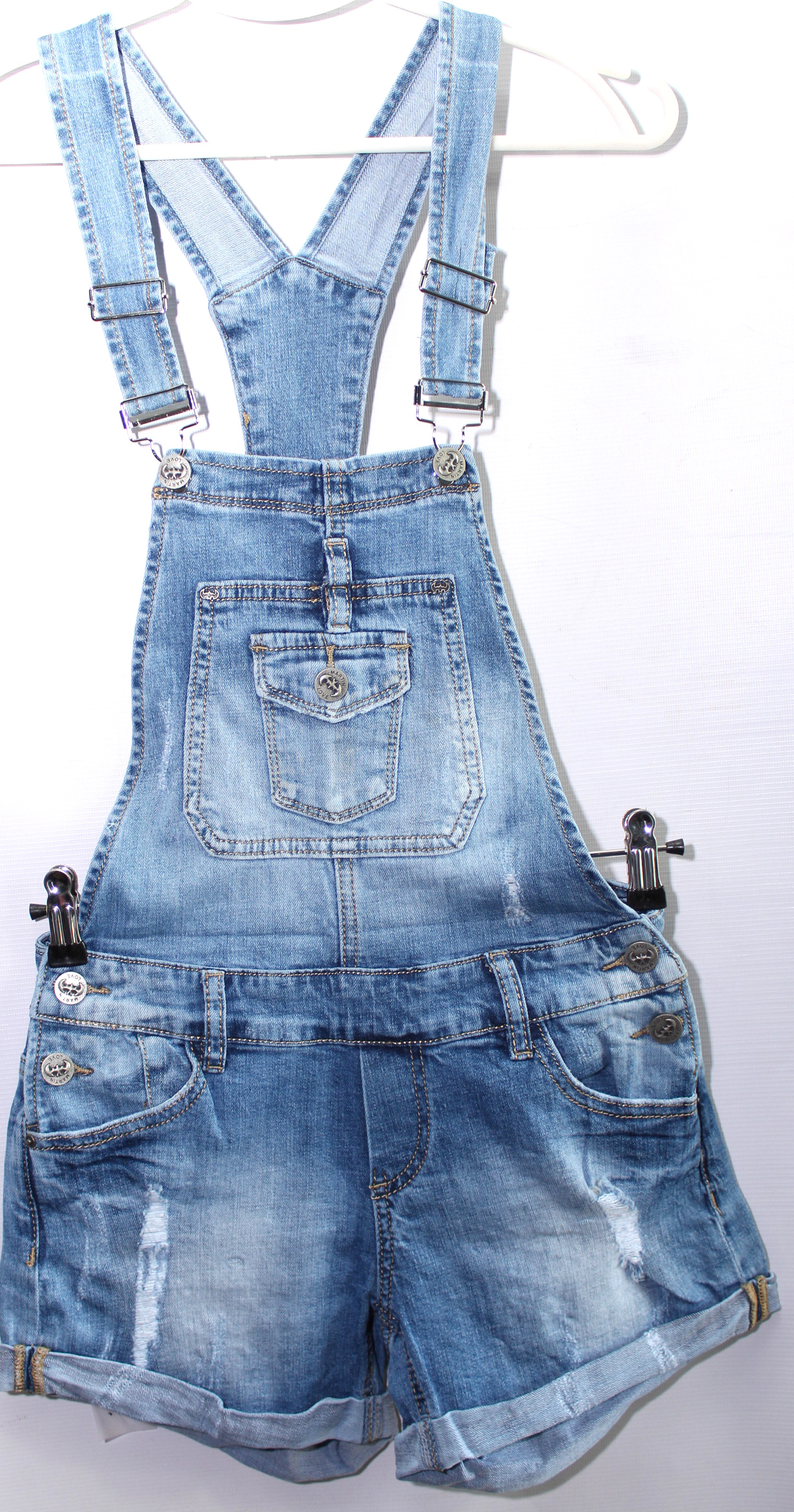 Комбинезоны джинсовые женские ZJY  оптом 54031689 9001