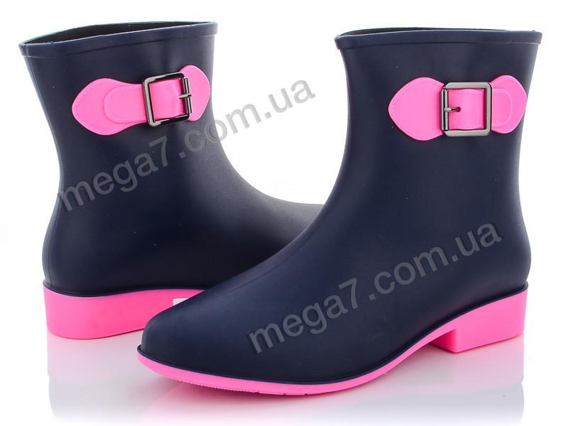 Резиновая обувь, Class Shoes оптом AG01 сине-розовый