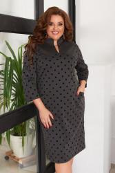 Платья женские БАТАЛ оптом 90125463 02-7
