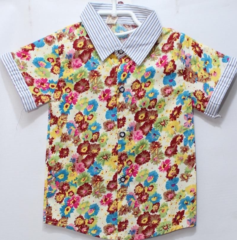 Рубашки детские оптом 13074925 1-23