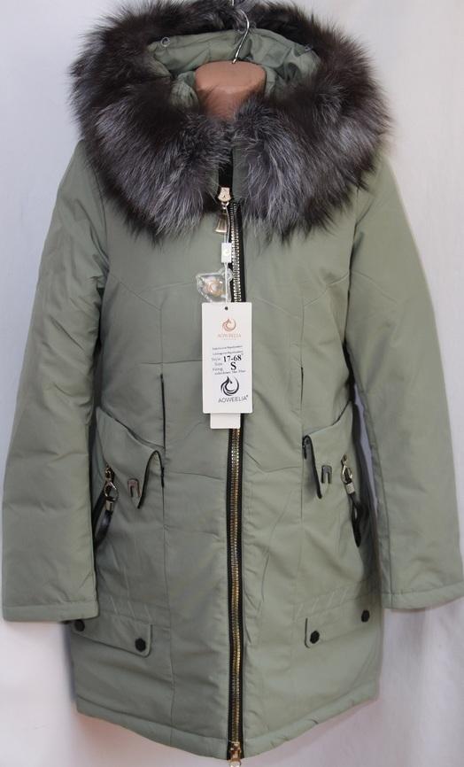 Куртки женские AOWEELIA оптом 19091209 1768