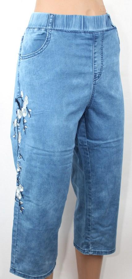 Бриджи джинсовые женские Sunird оптом 41637805 AIT2312