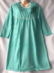 Ночные рубашки женские на байке БАТАЛ оптом 46981507 D95-38