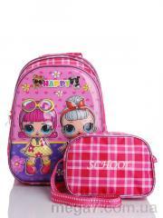 Рюкзак, Back pack оптом 258-1 pink
