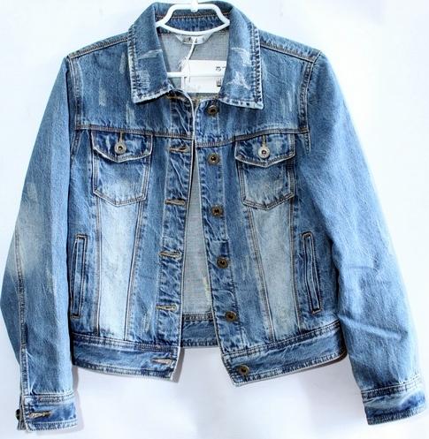 Джинсовые куртки женские ZIJINYAN  оптом 23765049 852