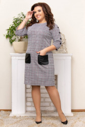 Платья женские БАТАЛ оптом 40879563 84-4