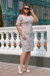 Платья женские БАТАЛ оптом 32159746 04-19