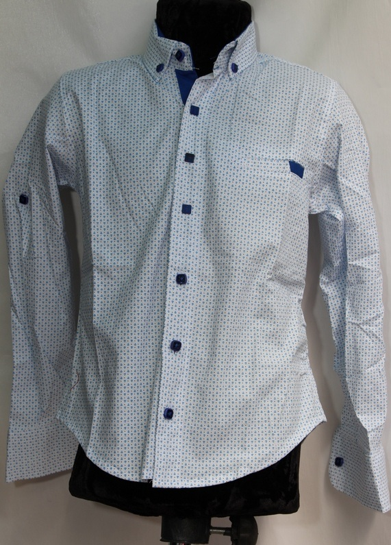 Рубашки подростковые  оптом 95840127 6445-147