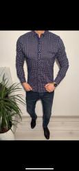 Рубашки мужские VARETTI оптом 25698147 03-36