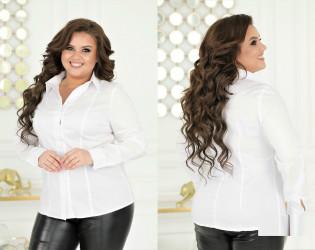 Рубашки женские БАТАЛ оптом 05794186  70-42
