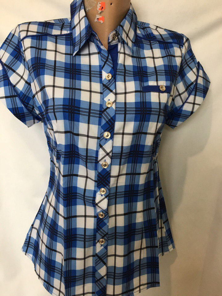 Рубашки женские оптом 2603006 25