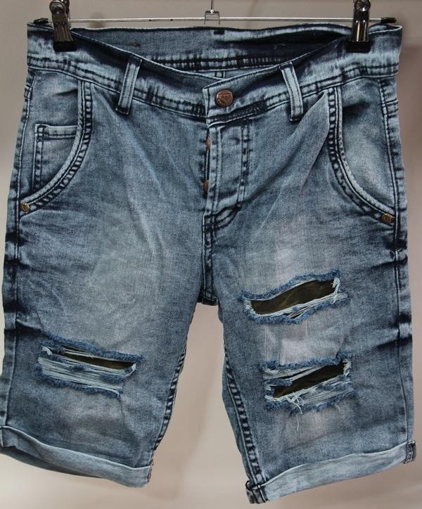 Шорты джинсовые мужские Турция оптом 2005531 065-01-1