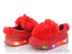 Слипоны, Clibee-Doremi оптом FR940 red LED