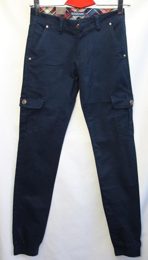 Джинсы мужские BARON темно синие оптом 19071818 6047