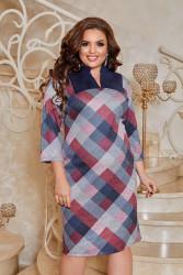 Платья женские БАТАЛ оптом 49187062    03-5
