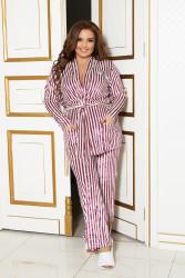 Пижамы женские БАТАЛ оптом 73021485    807-1