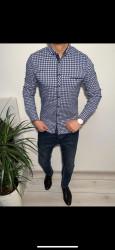 Рубашки мужские VARETTI оптом 53206897 03-39