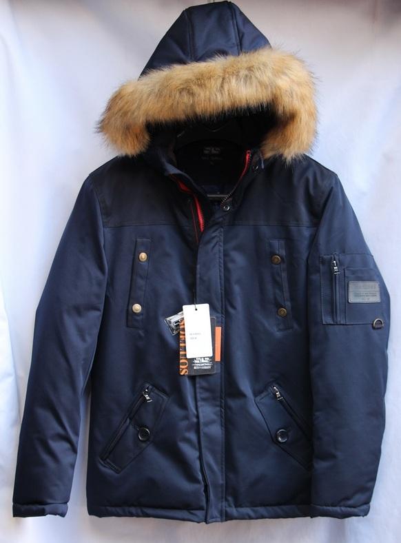 Куртка SOELUOS зимняя  мужская оптом  1609929 A9330-2