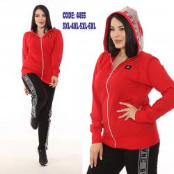 Спортивные костюмы БАТАЛ женские оптом 98051372 4455-2