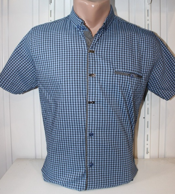 Рубашки мужские оптом 22061830 1725-3