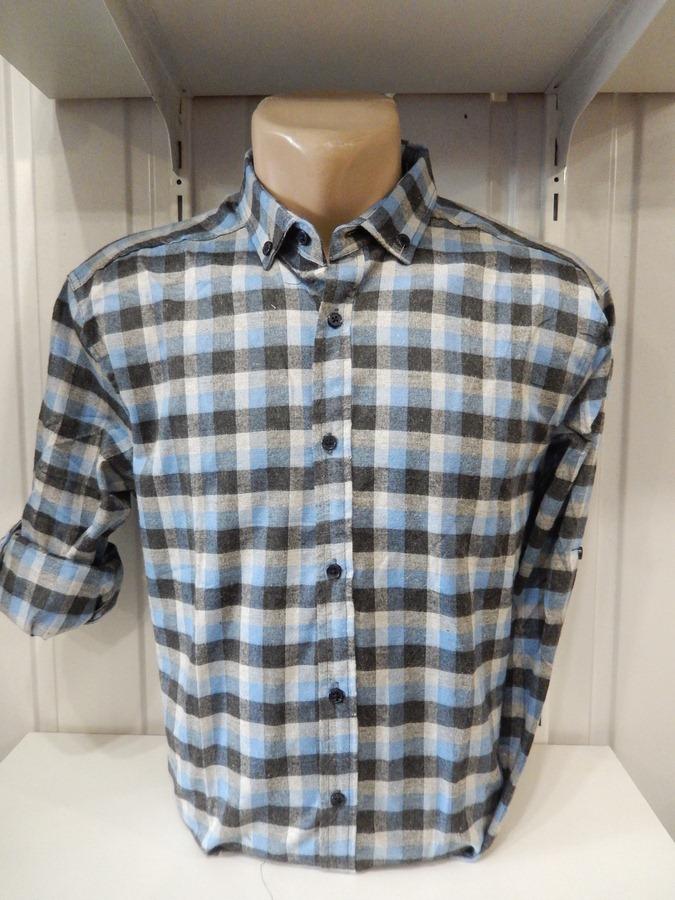 Рубашки мужские оптом 15101830 0222-52