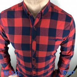 Рубашки мужские VARETTI оптом 94860273 03-33