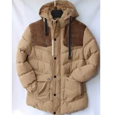 Куртка мужская зимняя оптом Китай 2909223 E61-2