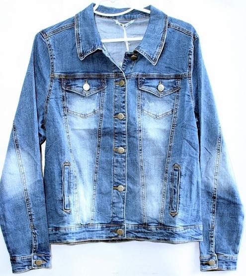 Джинсовые куртки женские ZIJINYAN  оптом 31796845 806