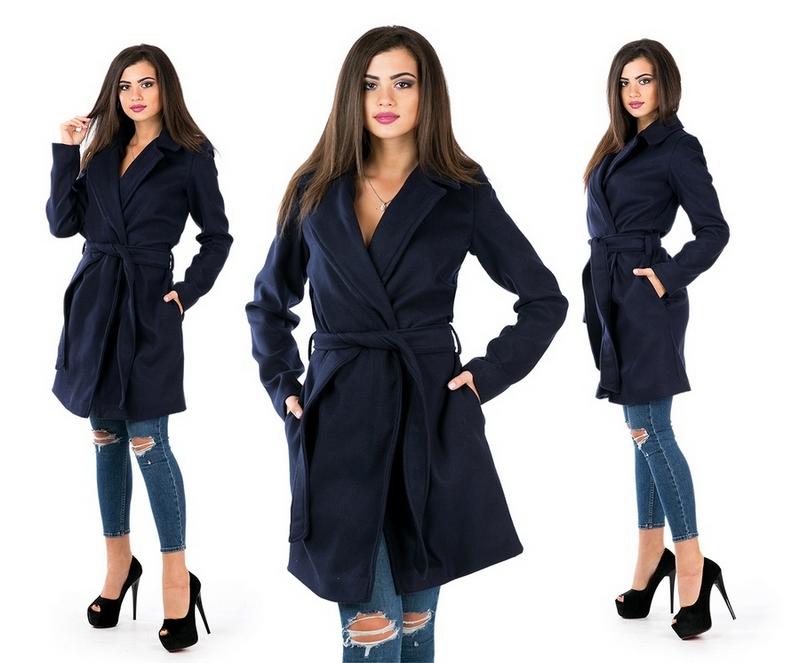 Пальто женские оптом 30095048 1-2