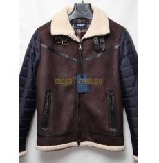 АКЦИЯ! Тотальная распродажа. Мужская куртка зимняя оптом Китай 01114976 8084-3