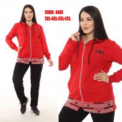 Спортивные костюмы БАТАЛ женские оптом 89471056 4458-6