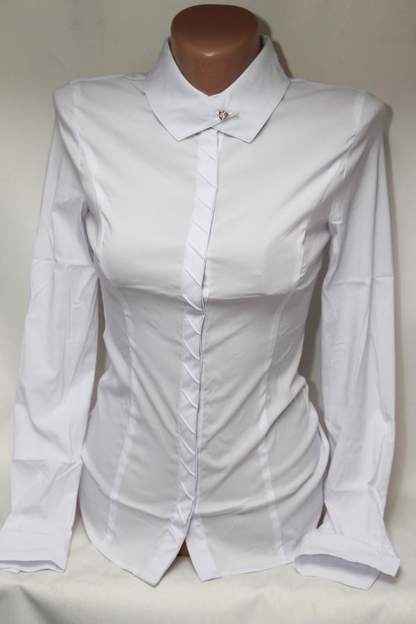 Блузы школьные оптом 52076891 93099