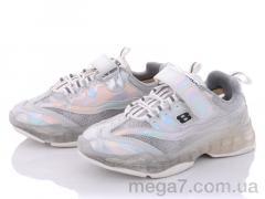 Кроссовки, Clibee-Doremi оптом G94-1 silver-white