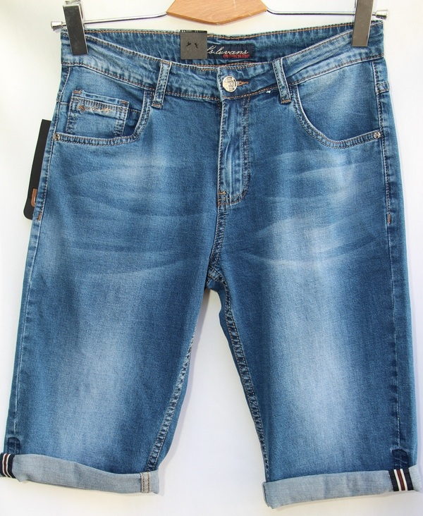 Шорты джинсовые мужские оптом 10061683 2855