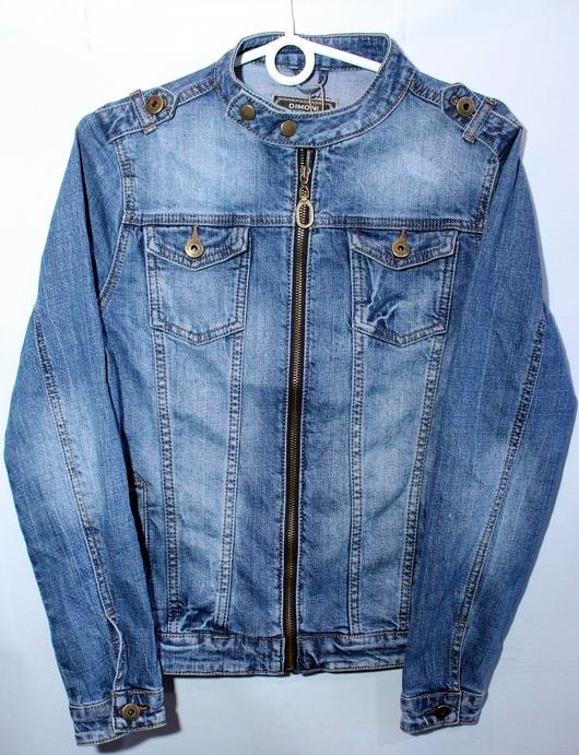 Куртки джинсовые женские DIMONI оптом 67594082 1088
