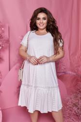 Платья женские БАТАЛ оптом 41237805  001-17