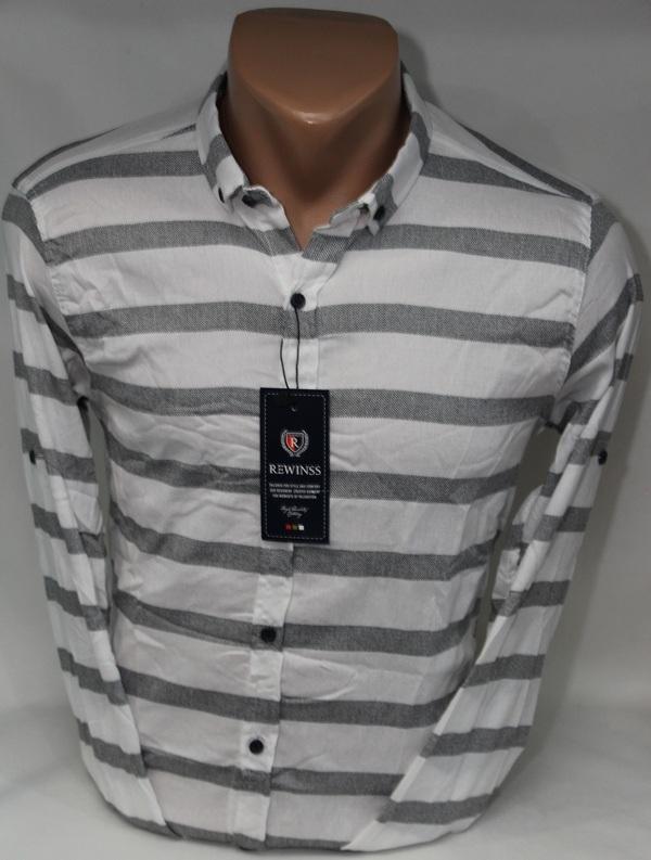 Рубашки мужские  оптом 75961048 9361-24