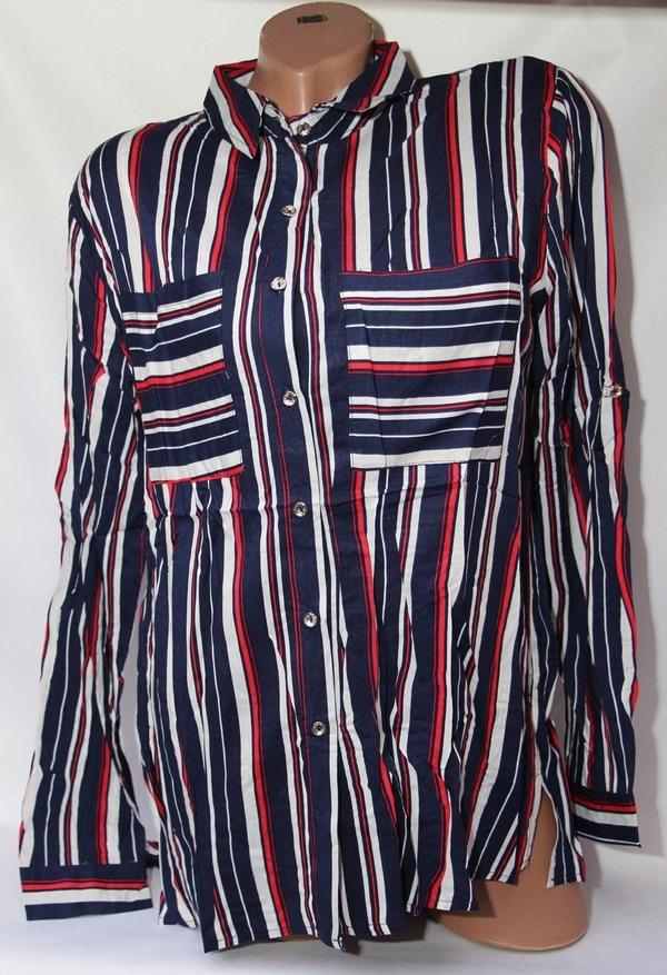 Рубашка женская Батал оптом 1902807 8512